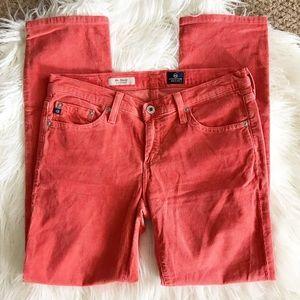 | AG jeans | Stevie slim straight corduroy pants